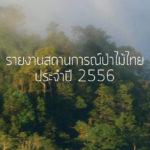 รายงานสถานการณ์ป่าไม้ไทย 2556