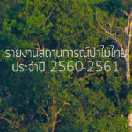 รายงาน สถานการณ์ป่าไม้ไทย 2560-2561