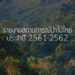 รายงาน สถานการณ์ป่าไม้ไทย 2561-2562