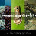 สาเหตุของการสูญพันธุ์ครั้งที่ 6 จากหนังสือ The Sixth Extinction